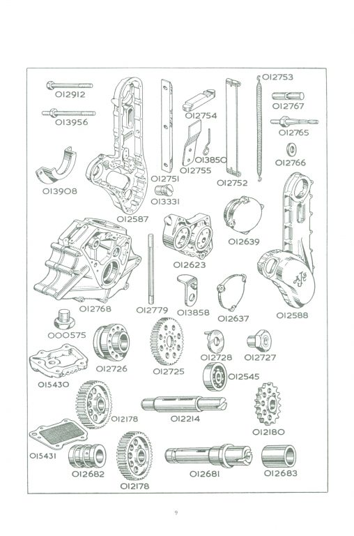 AJS 7R OHC Engine
