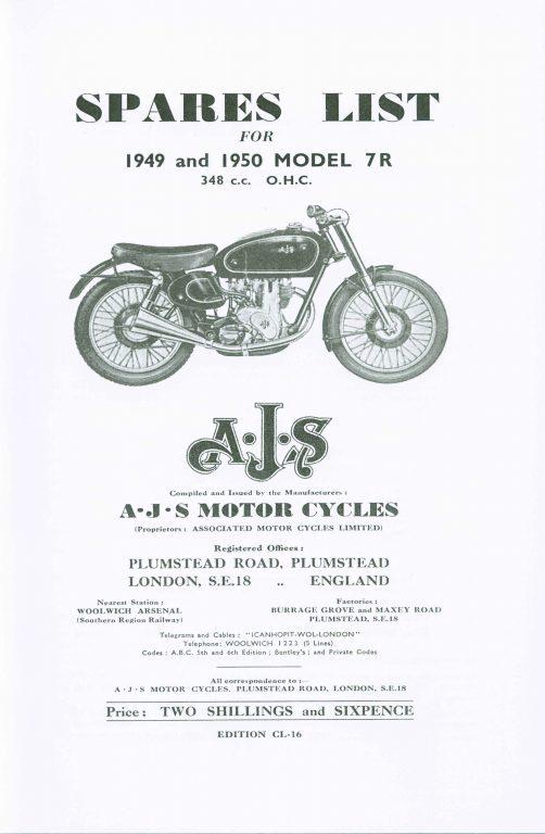 AJS 7R OHC