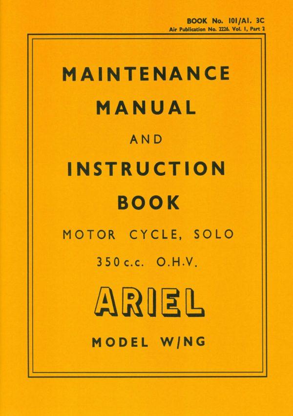 Ariel WNG WD Manual