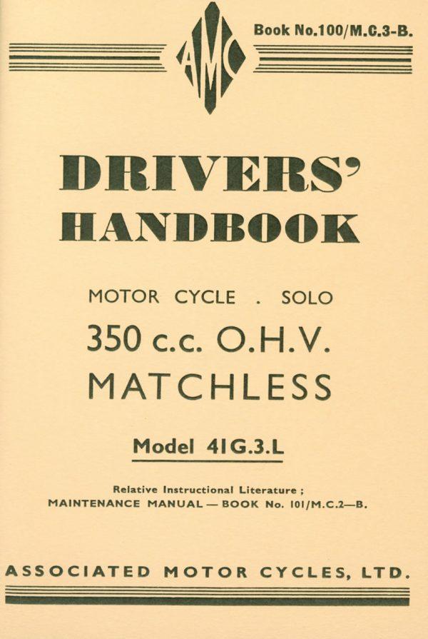 Matchless 41G3L Drivers Handbook