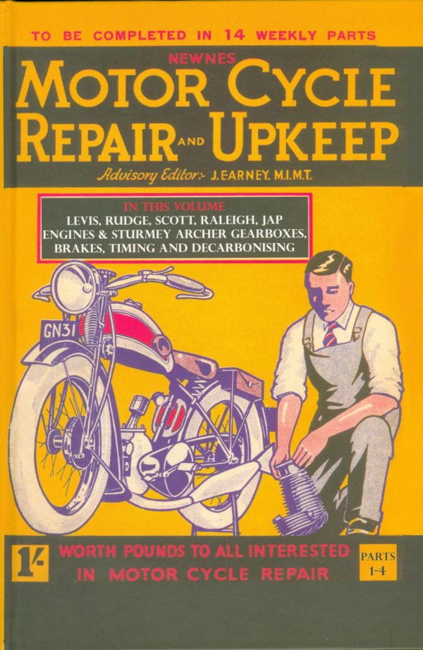 Motorcycle Repair and upkeep 1930