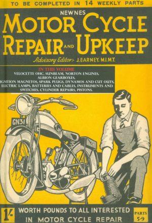 Motorcycle Repair and Upkeep 1930 Book