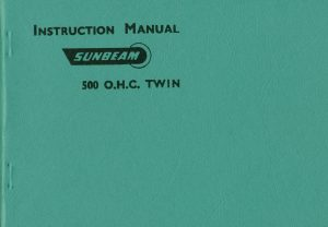 Sunbeam S7 S8 Manual 1957 Motorcycles