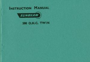 Sunbeam S7 S8 Manual 1957 Motorcycles