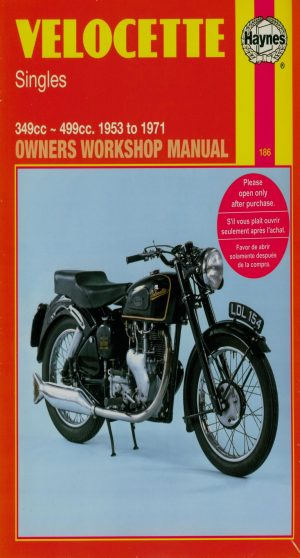 Velocette Haynes Manual 1953-1971