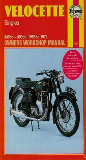 Velocette Haynes Manual 1953-1971