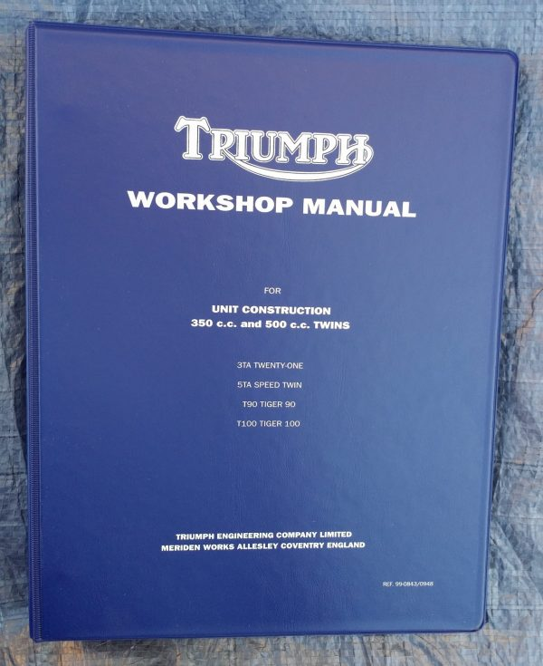 Triumph Workshop Manual 500 350