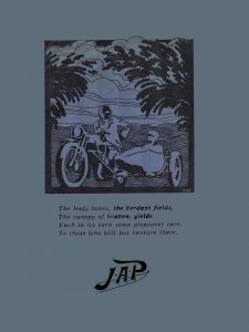 JAP Engines Sales Catalogues 1929