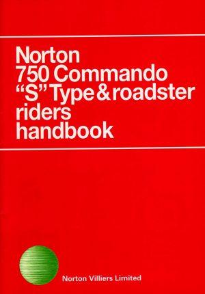 Norton Commando 750 Riders Handbook