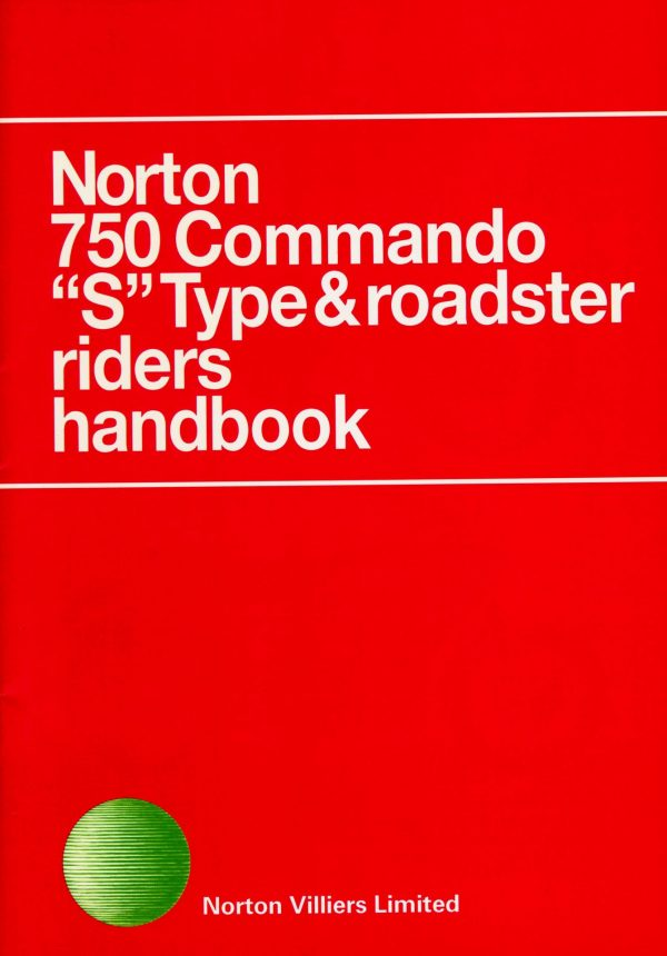 Norton Commando 750 Riders Handbook