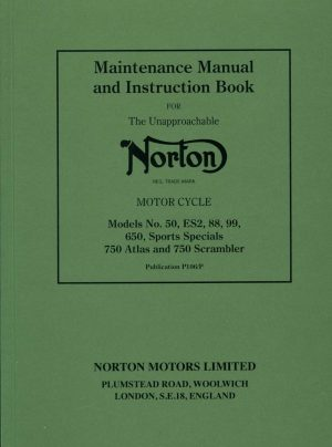 Norton Maintenance Manual ES2 88 99 650 750