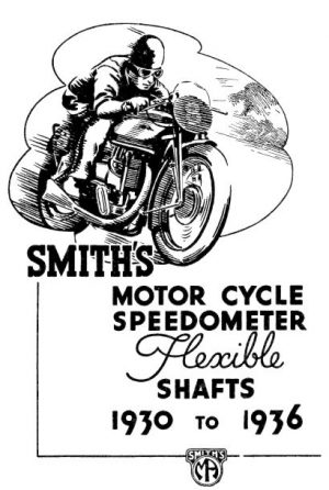 Smiths Speedo Cables 1930-1938