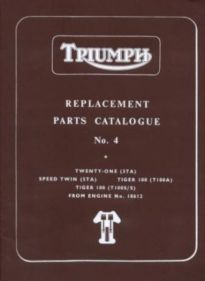 Triumph Parts Books