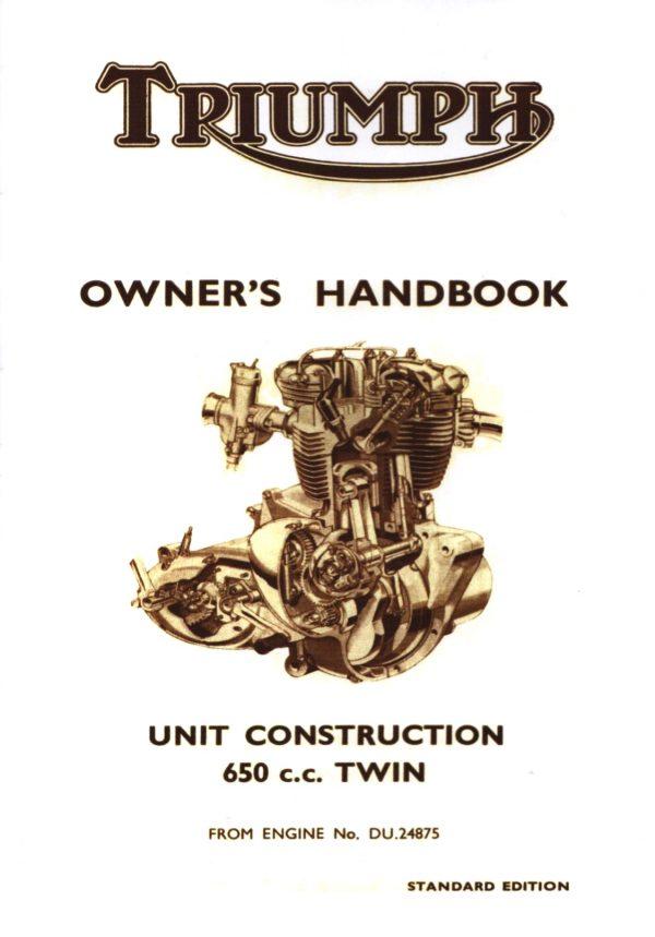 Triumph 650 Handbook 1963-1965