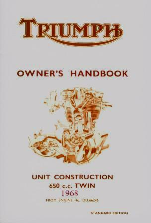 Triumph Bonneville Handbook 1968