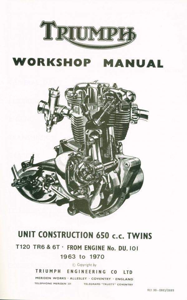 Triumph T120 Workshop Manual