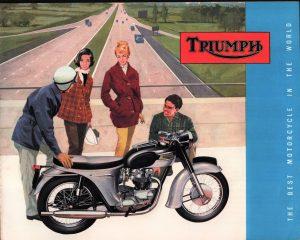 Triumph Motorcycle Brochure 1963 Original Literature