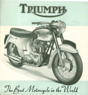 Triumph Tiger Cub T 21 Tiger 100 Brochure