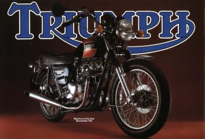 Triumph Motorcycle Brochure Special 1980 T140E Bonneville Tiger UK and USA Models 750