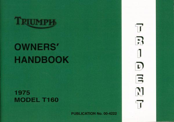 Triumph T160 Handbook