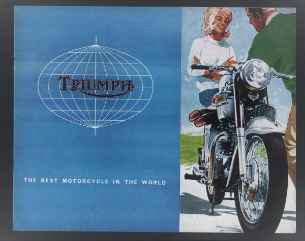 Triumph Motorcycle Brochure 1964 Season