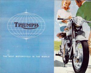 Triumph motorcycle Brochure 1964