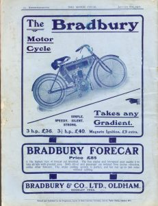 Bradbury Motorcycle 1906