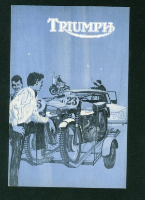 Triumph Brochure published 1965 New Old Stock Original