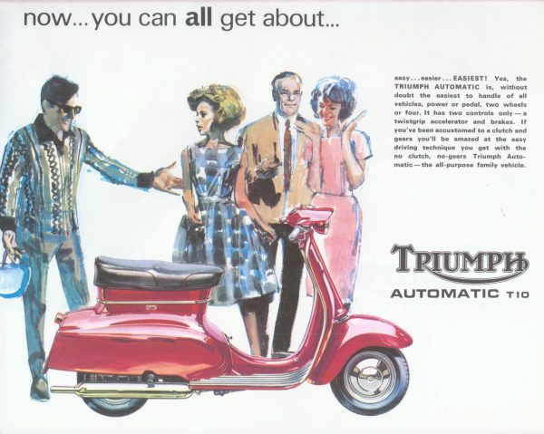 Triumph T10 Scooter Brochure 1965