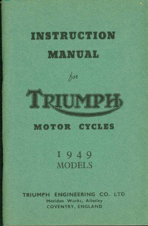 Triumph Motorcycle Manual 1949