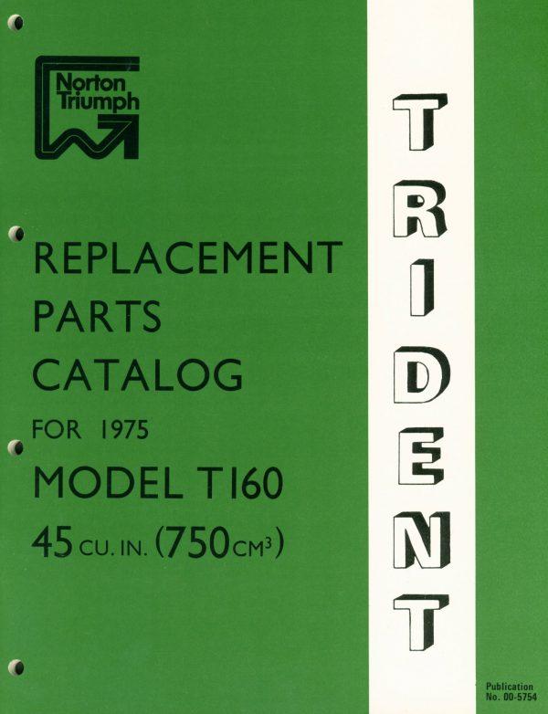 Triumph T160 Trident Parts B