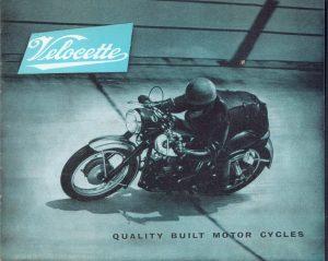 Velocette Sales Brochure Venom Viper LE 1961