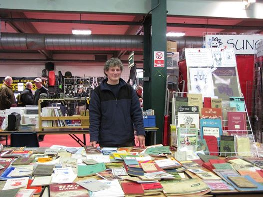 Classic Motorcycle Manuals at Stafford Classic Bike Show