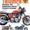 Triumph Bonneville Haynes Manual 01 to 19