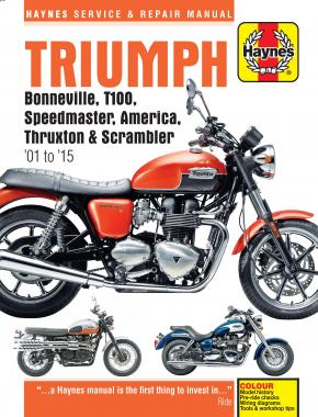 Triumph Bonneville Haynes Manual 01 to 19