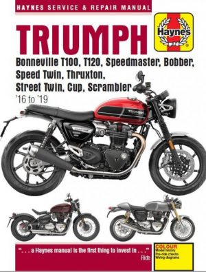 Triumph Bonneville Haynes Manual 16 to 19