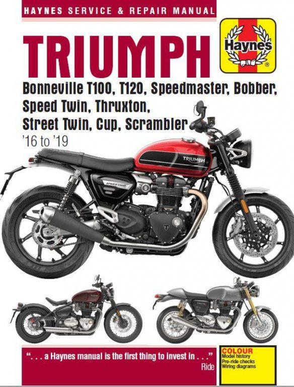 Triumph Bonneville Haynes Manual 16 to 19