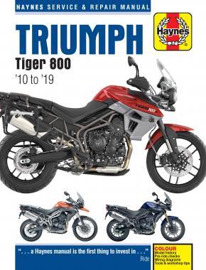 Triumph Tiger 800 Haynes Motorcycle Manual 2010-2019